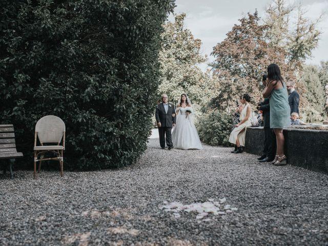 Il matrimonio di Tommaso e Sara a Bodio Lomnago, Varese 116