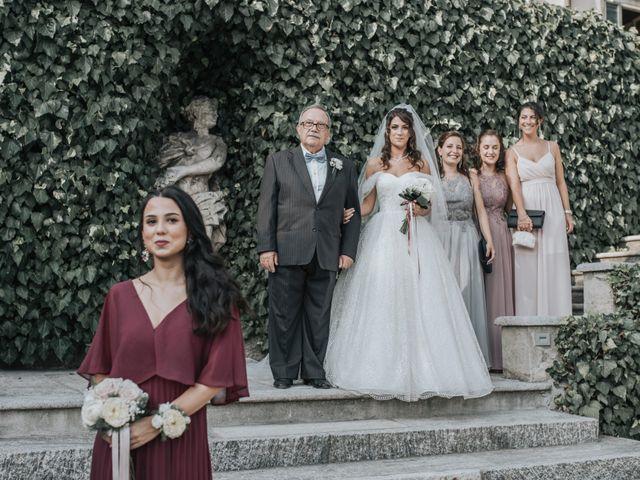 Il matrimonio di Tommaso e Sara a Bodio Lomnago, Varese 119