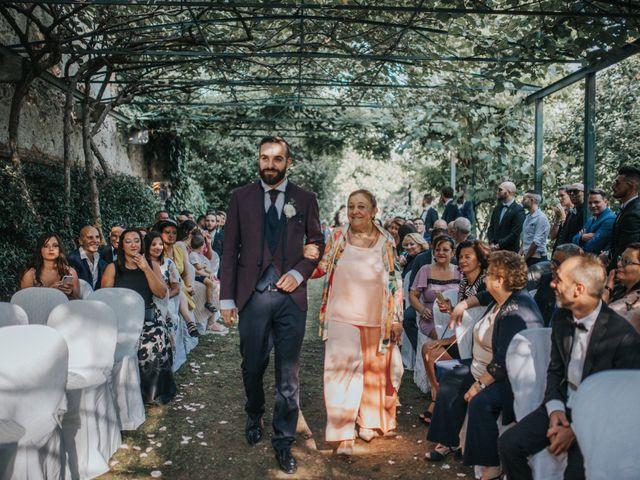 Il matrimonio di Tommaso e Sara a Bodio Lomnago, Varese 120