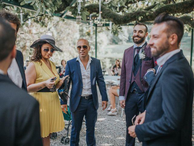 Il matrimonio di Tommaso e Sara a Bodio Lomnago, Varese 121