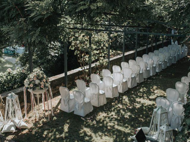 Il matrimonio di Tommaso e Sara a Bodio Lomnago, Varese 124