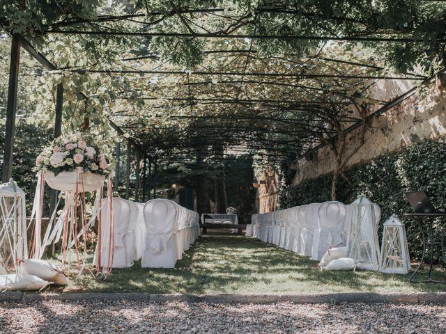 Il matrimonio di Tommaso e Sara a Bodio Lomnago, Varese 126