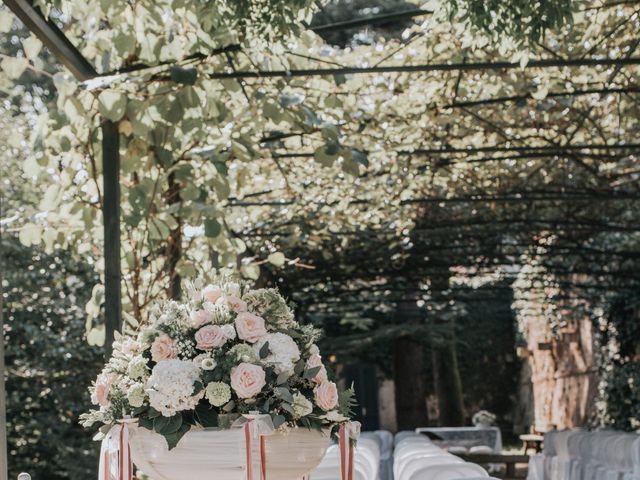 Il matrimonio di Tommaso e Sara a Bodio Lomnago, Varese 127