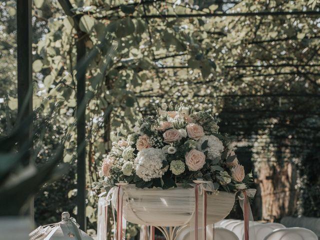 Il matrimonio di Tommaso e Sara a Bodio Lomnago, Varese 134