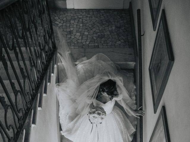 Il matrimonio di Tommaso e Sara a Bodio Lomnago, Varese 138