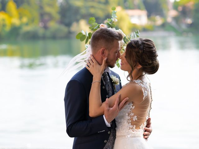 Le nozze di Alessia e Bryan