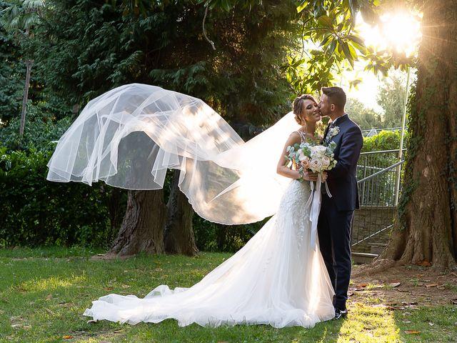 Il matrimonio di Bryan e Alessia a Pombia, Novara 46