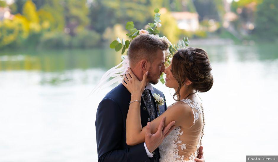 Il matrimonio di Bryan e Alessia a Pombia, Novara
