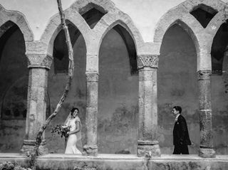 Le nozze di Chloé e Nathan