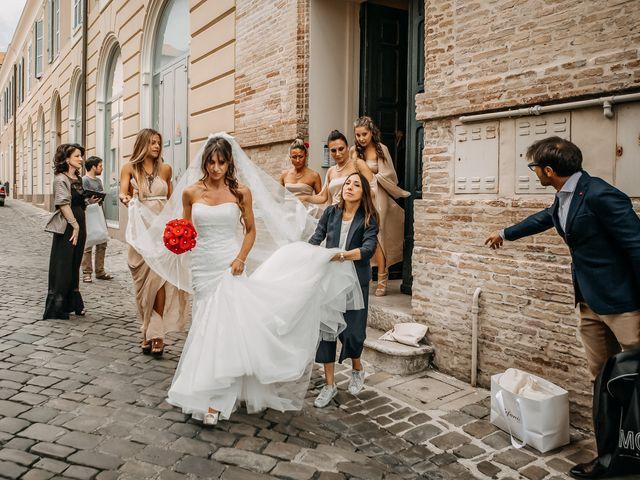 Il matrimonio di Perla e Federico a Senigallia, Ancona 26