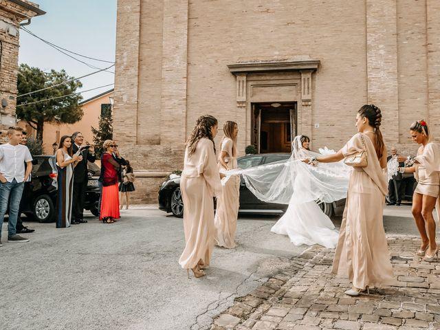 Il matrimonio di Perla e Federico a Senigallia, Ancona 32