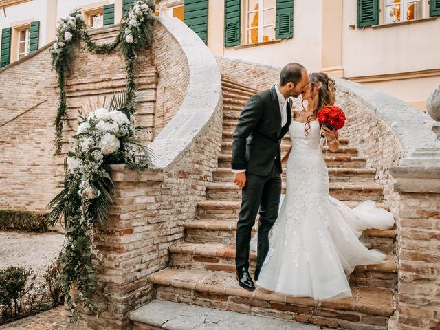 Il matrimonio di Perla e Federico a Senigallia, Ancona 54