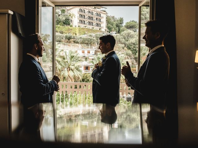Il matrimonio di Nathan e Chloé a Sorrento, Napoli 33