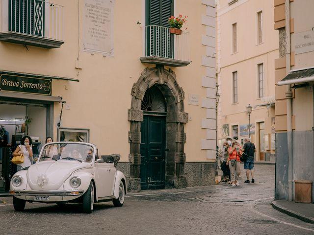 Il matrimonio di Nathan e Chloé a Sorrento, Napoli 48