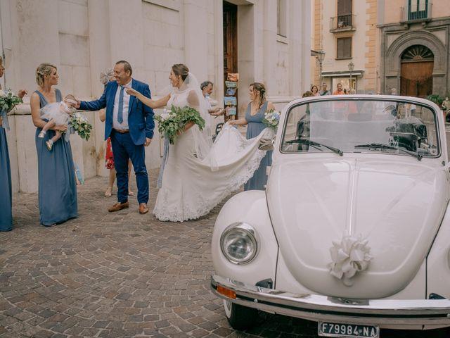 Il matrimonio di Nathan e Chloé a Sorrento, Napoli 50