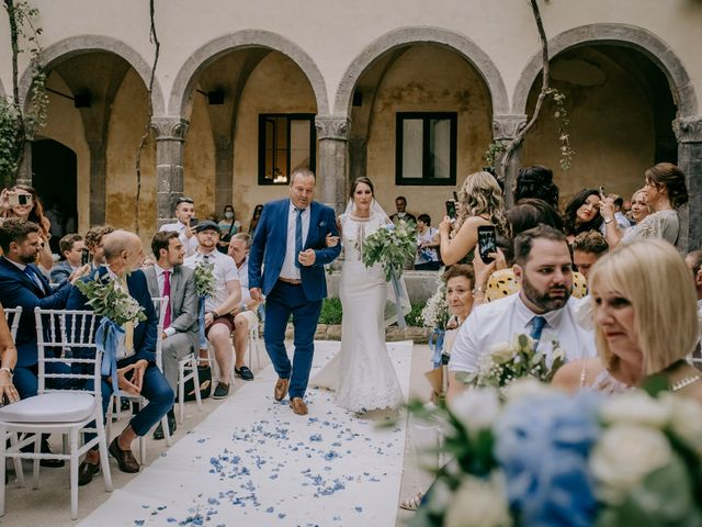 Il matrimonio di Nathan e Chloé a Sorrento, Napoli 57
