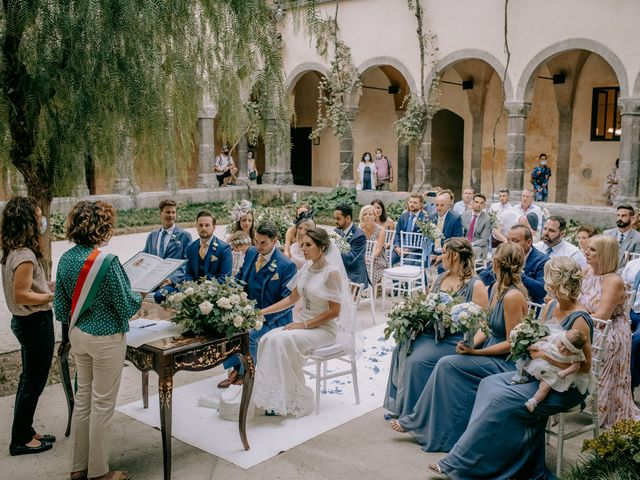 Il matrimonio di Nathan e Chloé a Sorrento, Napoli 62