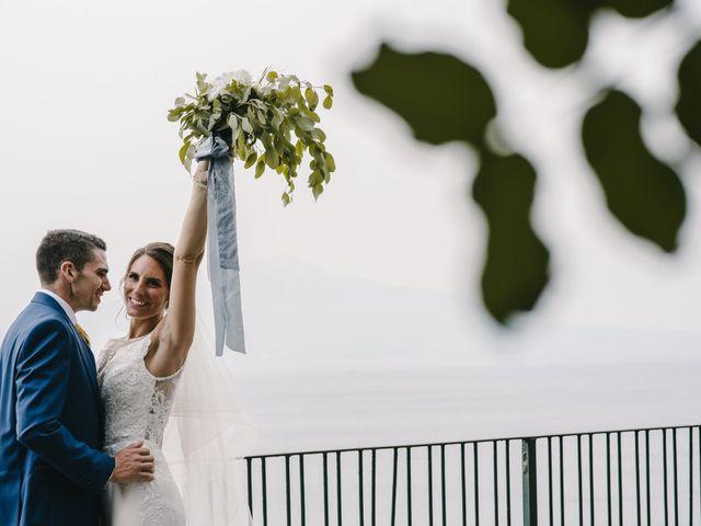 Il matrimonio di Nathan e Chloé a Sorrento, Napoli 91