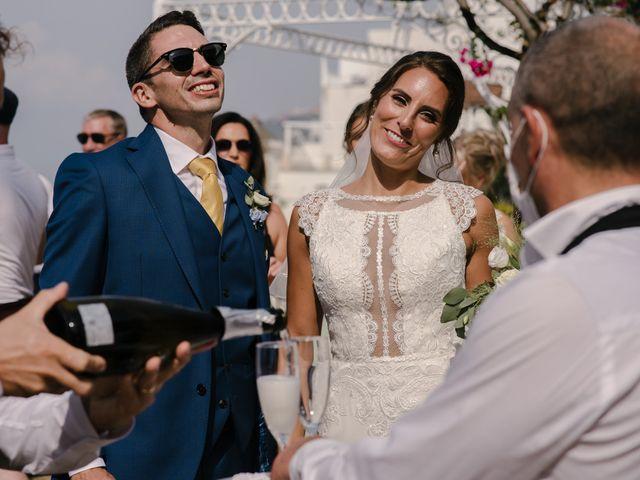 Il matrimonio di Nathan e Chloé a Sorrento, Napoli 110