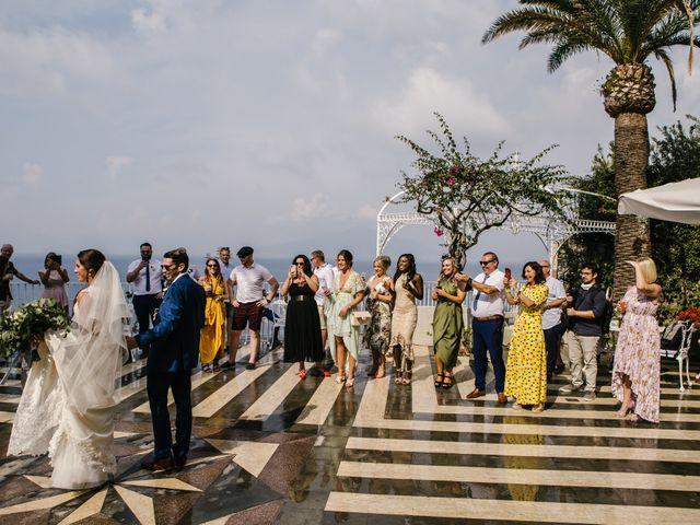 Il matrimonio di Nathan e Chloé a Sorrento, Napoli 114