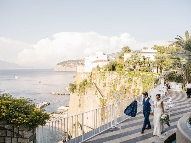 Il matrimonio di Nathan e Chloé a Sorrento, Napoli 141