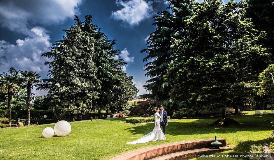 Il matrimonio di Karim e Veronica a Triuggio, Monza e Brianza