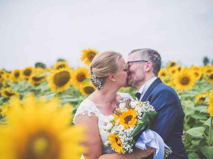 le nozze di Giorgia e Alessandro