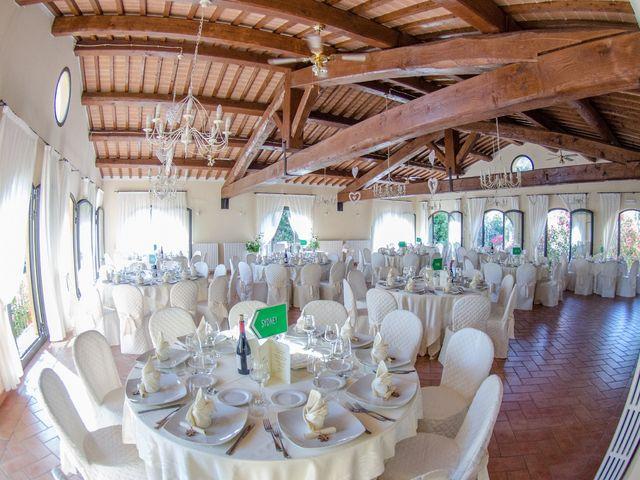 Il matrimonio di Fabio e Silvia a Riparbella, Pisa 12