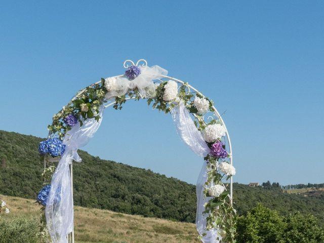 Il matrimonio di Fabio e Silvia a Riparbella, Pisa 16