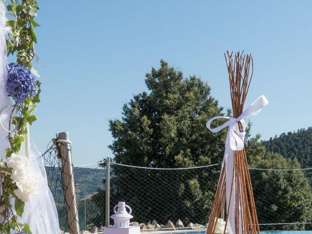 Il matrimonio di Fabio e Silvia a Riparbella, Pisa 17