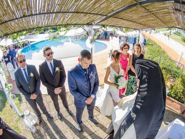 Il matrimonio di Fabio e Silvia a Riparbella, Pisa 24