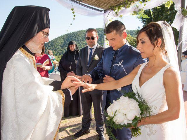 Il matrimonio di Fabio e Silvia a Riparbella, Pisa 1