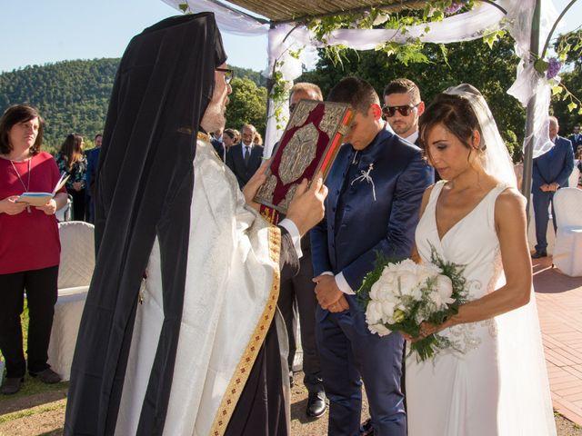 Il matrimonio di Fabio e Silvia a Riparbella, Pisa 26