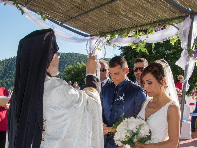 Il matrimonio di Fabio e Silvia a Riparbella, Pisa 29