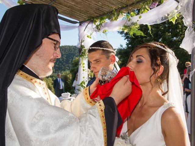 Il matrimonio di Fabio e Silvia a Riparbella, Pisa 31