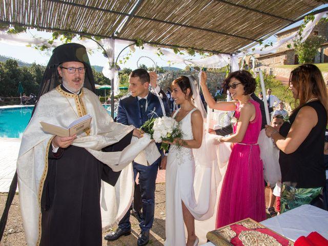 Il matrimonio di Fabio e Silvia a Riparbella, Pisa 32