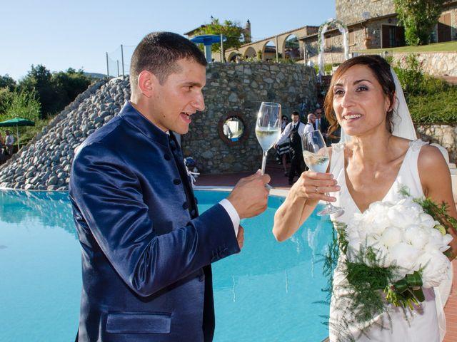 Il matrimonio di Fabio e Silvia a Riparbella, Pisa 35