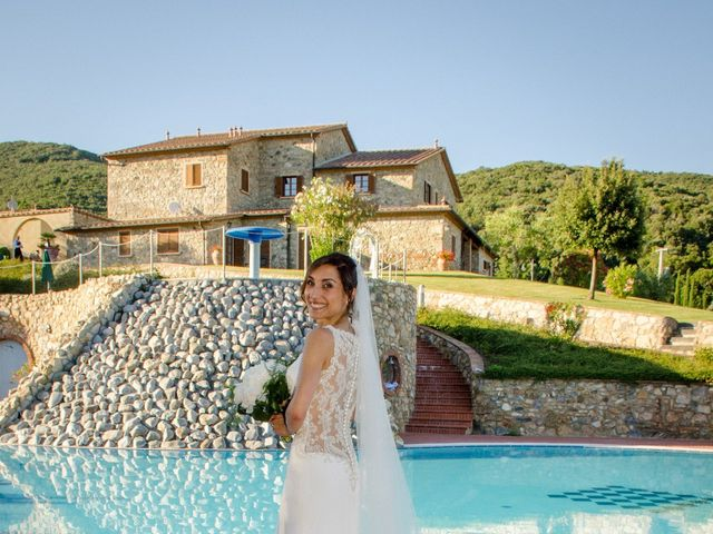 Il matrimonio di Fabio e Silvia a Riparbella, Pisa 36