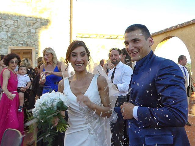 Il matrimonio di Fabio e Silvia a Riparbella, Pisa 43