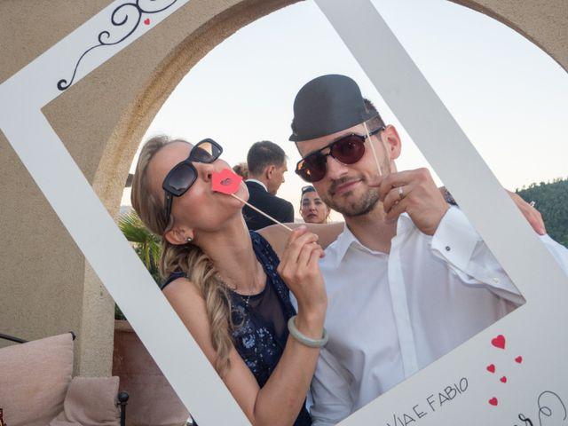 Il matrimonio di Fabio e Silvia a Riparbella, Pisa 44