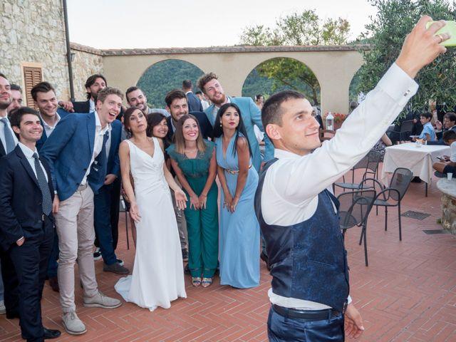 Il matrimonio di Fabio e Silvia a Riparbella, Pisa 46