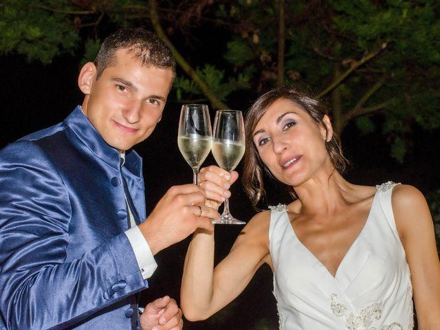 Il matrimonio di Fabio e Silvia a Riparbella, Pisa 51