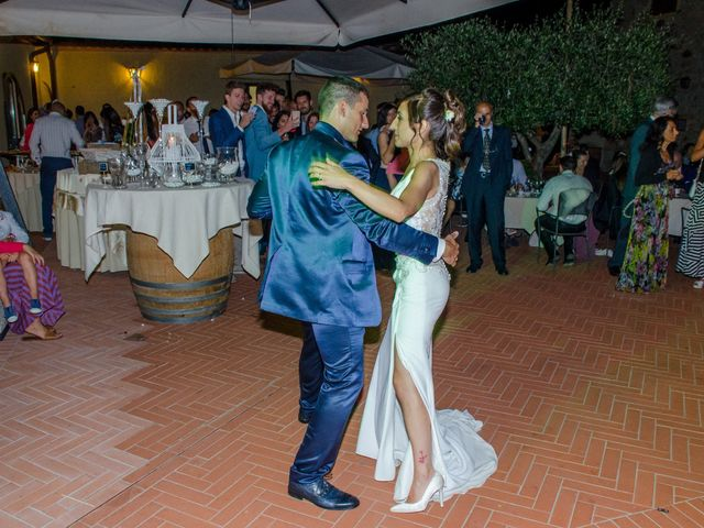 Il matrimonio di Fabio e Silvia a Riparbella, Pisa 53