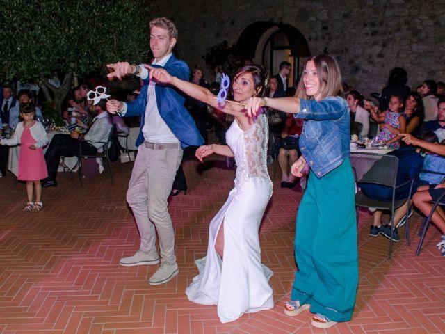 Il matrimonio di Fabio e Silvia a Riparbella, Pisa 54