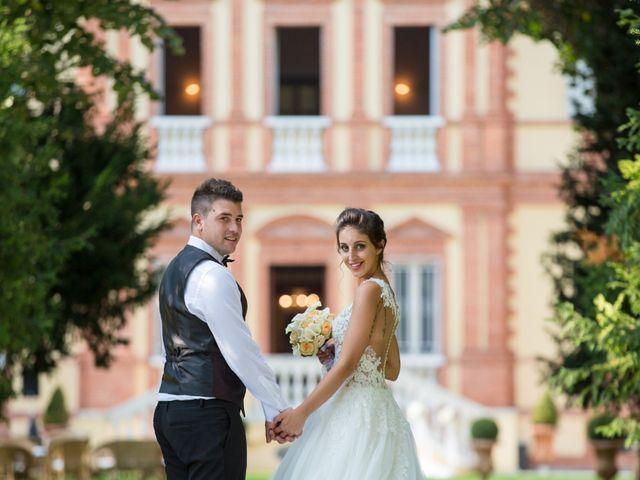 Le nozze di Giorgia e Enrico