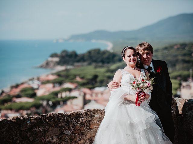 Il matrimonio di Chiara e Giacomo a Castiglione della Pescaia, Grosseto 69