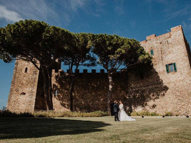 Il matrimonio di Chiara e Giacomo a Castiglione della Pescaia, Grosseto 72