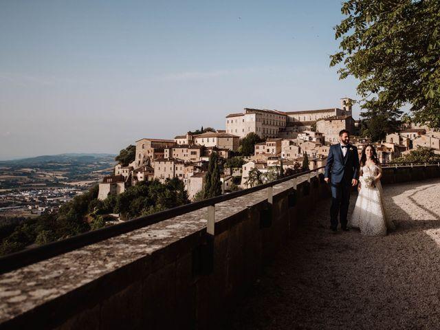 Il matrimonio di Davide e Sofia a Todi, Perugia 7
