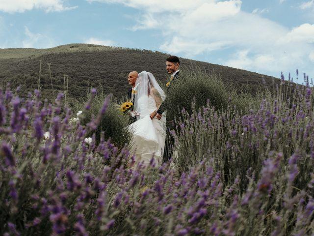 Il matrimonio di Stefano e Salvina a Scheggino, Perugia 24