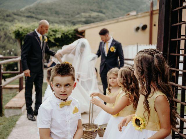 Il matrimonio di Stefano e Salvina a Scheggino, Perugia 25